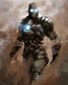 Steampunk Ironman by Tyler Ryan on ArtStation