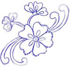 How to Draw a Flower Tattoo, Step by Step, Tattoos, Pop Culture ...