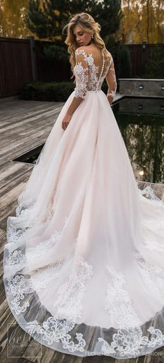 e2d882269e82c6 44 Glamorous Ball Gown Wedding Dresses for 2018 Trends  pic Bruidsjurken  Voor Prinsessen