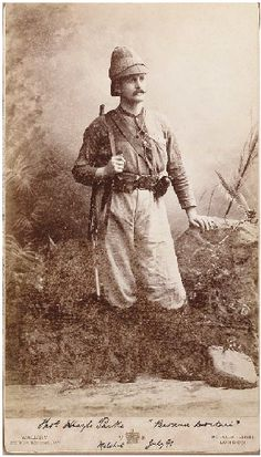 Emin Pasha Relief Expedition with Henry Morton Stanley: Surgeon Parke in… Uk History, African History, Vintage Photographs, Vintage Photos, Vintage Safari, Steampunk, Archaeological Discoveries, Wax Museum, Pulp