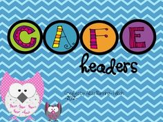 Included in this download are the CAFE letters, as well as comprehension, accuracy, fluency and expanding vocabulary headers!Thank you for stop...