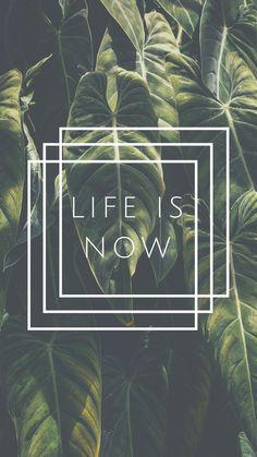 Life is now. Super leuke combi! Vooral voor de zomer. Love it #green #life