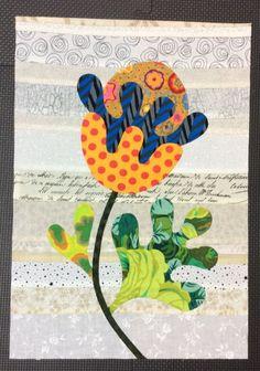 Flower Garden, Kim McLean - Block 7 (Laila Nelson)