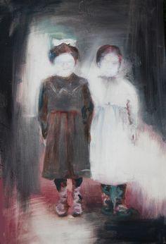 Saatchi Online Artist: patrick Jennings; Oil, Painting untitled