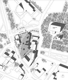 Lohja Main Library, Lohja, Finland - Lahdelma & Mahlamäki Architects Red Brick Walls, Main Library, Red Bricks, Finland, Architects, Projects, Architecture, Home