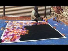 Aboriginal Artist Emily Pwerle 0730 - YouTube