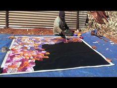 Aboriginal Artist Emily Pwerle 0730 - YouTube