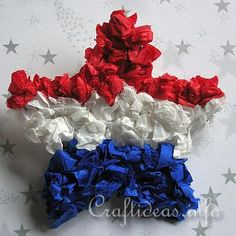 Preschool Crafts for Kids*: 4th of July Day Star Pin Craft