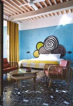 25 Best Interior Design Projects by India Mahdavi Best Interior Design Blogs, Top Interior Designers, Quirky Home Decor, Cheap Home Decor, Home Decor Inspiration, Decor Ideas, Colorful Interiors, Design Projects, Decoration