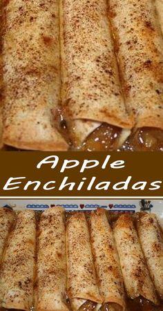 Apple Dessert Recipes, Fruit Recipes, Apple Recipes, Easy Desserts, Fall Recipes, Mexican Food Recipes, Sweet Recipes, Delicious Desserts, Breakfast Recipes
