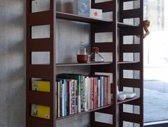 Parallel is a component shelving system made from pressed steel designed by Terence Woodgate. Storage Shelves, Storage Spaces, Basement Studio, Shelving Systems, Scp, Bookcase, House, Furniture, Design Concepts