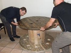 Decoration, Diy, Furniture, Blog, Home Decor, Wood Spool, Salvaged Wood, Home Ideas, Woodworking
