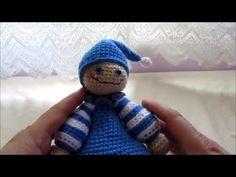 Amigurumi sleeping buddy part 1 tutorial crochet