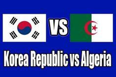 Watch Korea Republic vs Algeria -2014 FIFA World Cup, Estadio Beira-RioPorto Alegre (BRA)22 Jun 2014 - 16:00 Local time Group stage - Group H