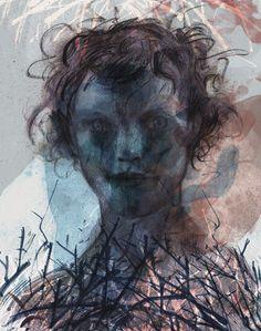 Feral Child by Sishir Bommakanti #art #illustration