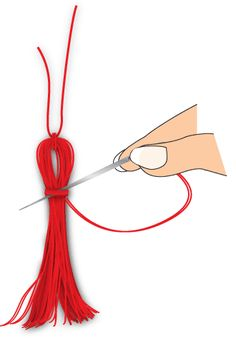 How to make your own tassels  I made my first one with this tutorial tonight, and it looks really good!