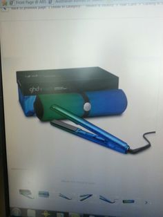 Bird of paradise green/blue ghd mk5 would make a great mothers day present.