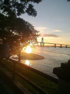 Atardecer. Corrientes capital