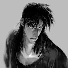 Kaiji Itou, Face Reference, Anime People, Werewolf, Art Inspo, Cool Art, Anime Art, Character Design, Manga
