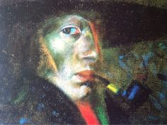 Self Portrait,1921, Salvador Dalí