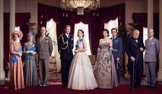 The Crown cast season 1, 2016
