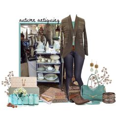 """Autumn Antiquing"" by hcc71 on Polyvore"