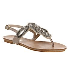 0ec16bfeff03 Buy Nude Leather Office Ocra Sandals from OFFICE.co.uk. Leather Sandals