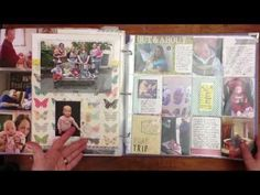 Idea for Project Life + Library of Memories Baby Book | Simple Scrapper
