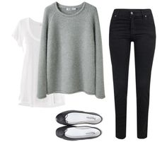Simple. Cute. Comfy. Yup, I'd wear this.