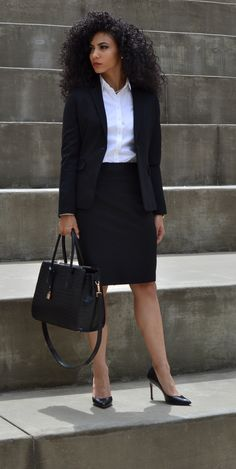 Fantastic Pic fancy Business Outfit Strategies, - business professional outfits for interview Casual Work Outfits, Office Outfits, Work Attire, Work Casual, Office Attire, Casual Office, Chic Outfits, Outfit Work, Stylish Office