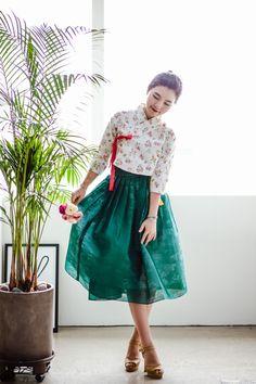 [다래원 한복] 감성 생활한복 자체제작, 허리치마, 한복원피스, 철릭, 린넨저고리, 화양연화