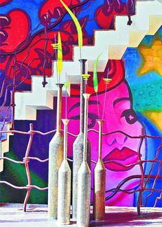 pop art decor - Google Search Pop Art Decor, Bright Pillows, Pop Art Posters, Interior Design Services, Art And Architecture, Home Art, Salons Decor, Design Art, Branding Design