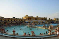 Went to the hot springs in Budapest
