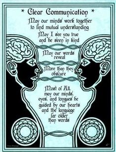 Prayer for Clear Communication. Not into magic at all but need to be reminded about speech that reveals more than it obscures. Magick Spells, Wiccan, Witchcraft, Soul Healing, Chakra Healing, Meditation, Under Your Spell, Twin Souls, Book Of Shadows