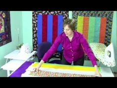 1-Hour Serger Quilt - using the quilt as you go technique. this link is to the pattern but the Youtube video I found initially is here too.