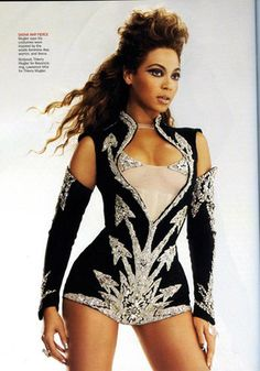 """""""The greatest performer of our generation, Beyonce, meets one of the most referenced designers, Thierry Mugler."""""""