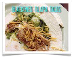 We Tried It! Blackened Tilapia Tacos - Yum!