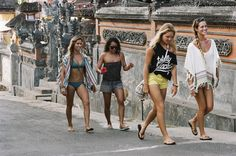 Roxy Team in Bali