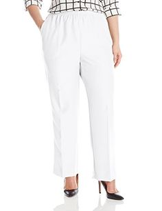 ea31ce65f49 Alfred dunner women s plus-size poly proportioned medium pant