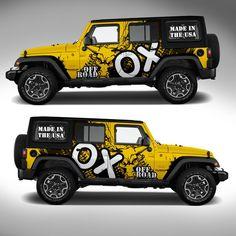 Signos de negocio con el logotipo diseños Coche Camioneta Puerta señalización calcomanías Personalizado Personalizado Land