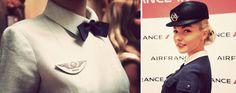 Balenciaga for Air France, 1969 Air France, Cabin Crew, Christian Lacroix, Balenciaga, Captain Hat, Baseball Hats, Costume, Flight Attendant, Designers