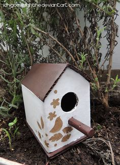 Little Bird Houses Bird house and feeder additions are a great gift idea for someone who has a garden! Click for more bird house/feeder selections.