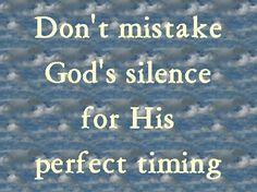 ..I (God) will never leave you nor forsake you. Hebrews 13:5 ESV