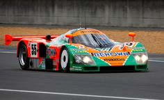 1991 Mazda 787B with its 3 rotor rotary engine.