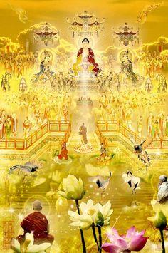 소원성취》인연만나기 #나무아비타불관세음보살 Amitabha Buddha, Gautama Buddha, Buddha Buddhism, Buddha Art, Great Compassion Mantra, Asian Art, Korean Art, Chinese Buddha, Mahayana Buddhism