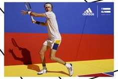 timeless design fb731 1906a Pharrell s adidas Tennis Collection Is  70s-Inspired Chic