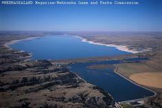 Lake McConaughy State Recreation Area near Ogallala, Nebraska.