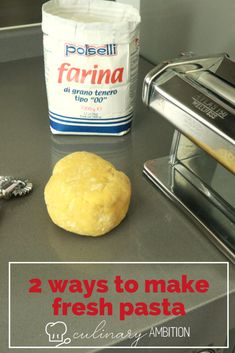 Homemade pasta dough is straightforward to make. Once you know the technique you will be able to make a variety of different shapes and dishes. #pasta #freshpasta #homemadepasta #spaghetti #fettucine #lasagne #ravioli #pastamachine #bestpasta #eggpasta #pastadish Homemade Pasta Dough, Easy Recipes For Beginners, Pasta Machine, Pasta Shapes, Fresh Pasta, Makati, Ravioli, Ambition, Pasta Dishes