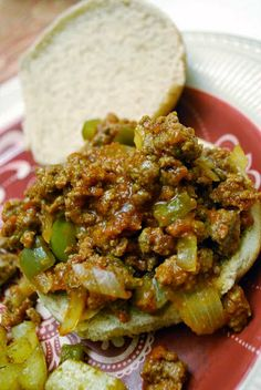 Weight Watchers Sloppy Joes