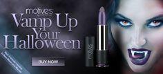 Need Halloween Ideas?   #Motives For La La  www.motivescosmetics.com/grandwiz